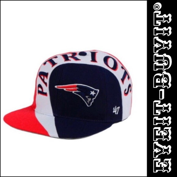 affordable price classic fit hot product 47 Accessories | Nfl New England Patriots Circuit Captain Cap ...